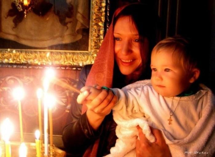 Молитва матери о благополучии детей.