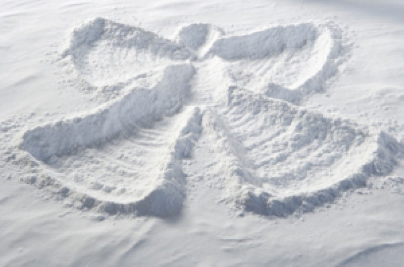 Гадание на снег в Святки.