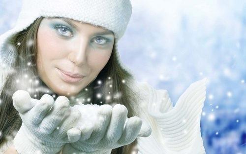 Заговор от бед на Рождественский снег.