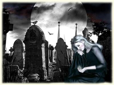 Заговор от проклятия свекрови на кладбище